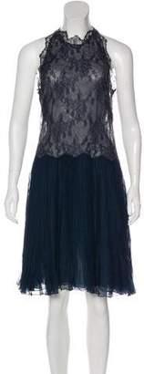 Valentino Silk Lace Dress