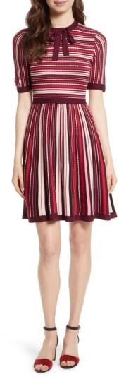 Women's Kate Spade New York Stripe Sweater Dress