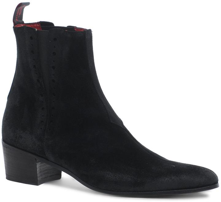 Jeffery West Suede Chelsea Boots