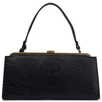 Lola Ramona Betty Croc Embossed Handbag