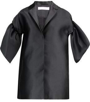 Victoria Beckham Victoria Ruffled Satin Coat