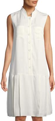 Lafayette 148 New York Minka Sleeveless Shirtdress