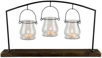 San Miguel Hanging 3-Light Votive Candle Holder 4-piece Set