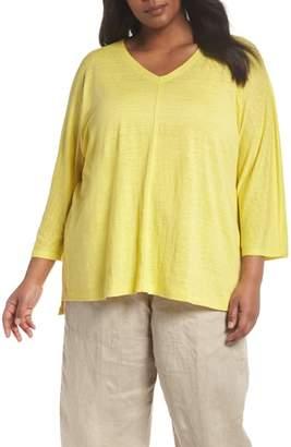 Eileen Fisher Organic Linen Top