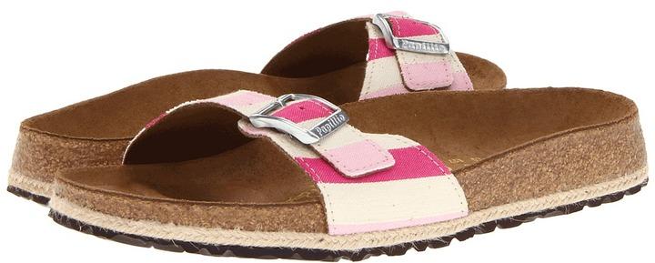 Papillio Madrid (Pink Stripe Canvas) - Footwear