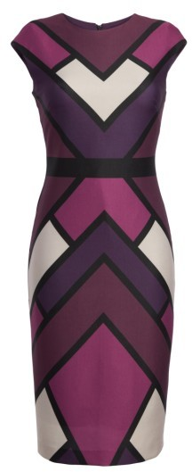 Women's Vince Camuto Scuba Body-Con Dress 5