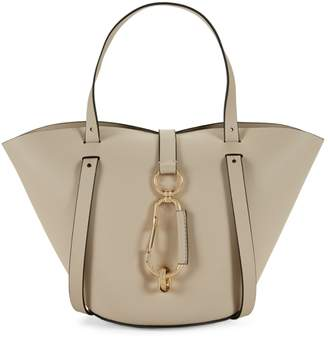 Zac Posen Small Belay Leather Tote