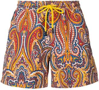 Etro paisley print all over swim shorts