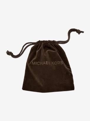 Michael Kors Cubic Zirconia Gold-Tone Circle Ring