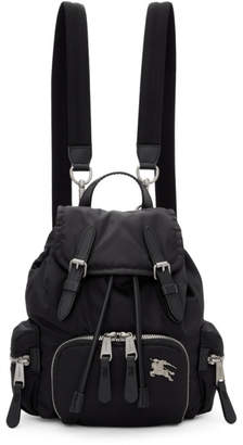 Burberry Black Small Puffer Crossbody Backpack