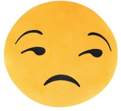 TRYIF Emoticon Yellow Round Plush Pillow - Emoji 12Inch