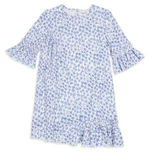Stella McCartney Little Girl's & Girl's Star Print Pleated Dress