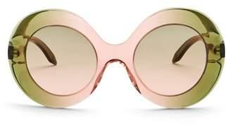 Victoria Beckham Women's Flared Round Sunglasses