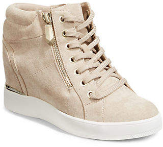 Aldo Lace-Up Wedge Sneakers