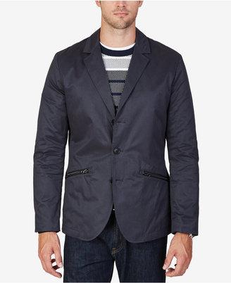 Nautica Men's Fashion Marine Tech Blazer $228 thestylecure.com