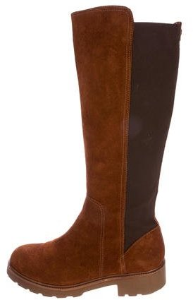 Tory Burch Tory Burch Suede Knee-High Boots