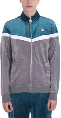 Fila Harry Vintage Grey And Cyan Sweatshirt