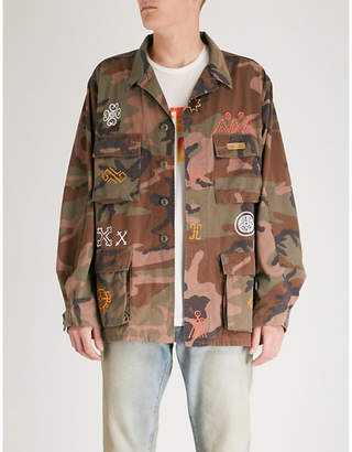 Hollywood Trading Company Native camouflage cotton-drill jacket