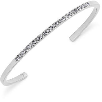 Kate Spade Silver-Tone Pave Cuff Bracelet