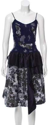 Michael Van Der Ham Sleeveless Midi Dress