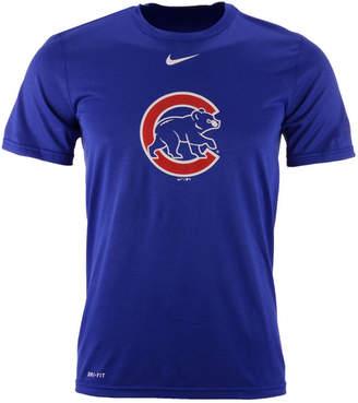 Nike Men Chicago Cubs Bp Logo Legend T-Shirt
