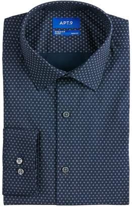 94c3ffd7 Apt. 9 Men's Slim-Fit Premier Flex Collar Stretch Dress Shirt