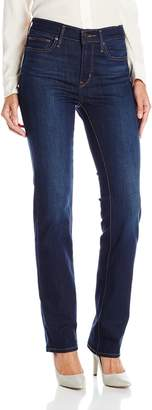 Levi's Women's Slimming Straight Jeans