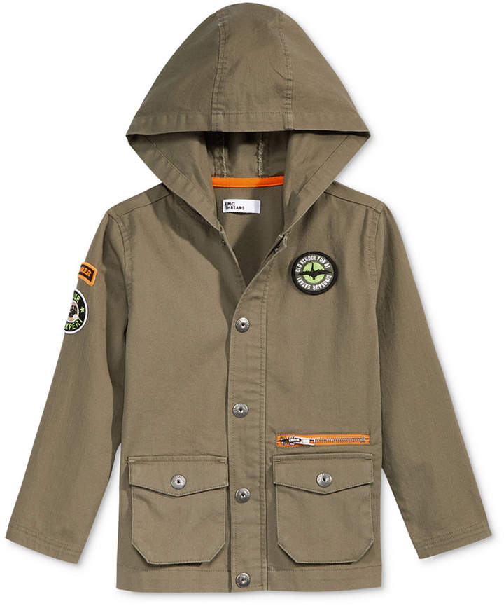 Patch Jacket, Toddler Boys, Created for Macy's