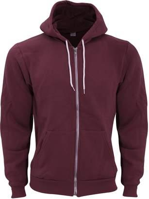 American Apparel Unisex Flex Plain Full Zip Fleece Hoodie (2XL)