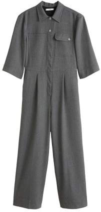 Mango MANGO Long chest-pocket jumpsuit