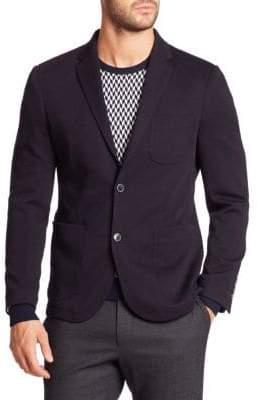 Saks Fifth Avenue Wool-Blend Knit Sport Jacket