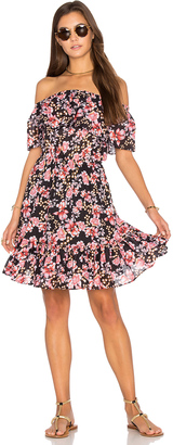 Seafolly Nouveau Floral Off Shoulder Dress $171 thestylecure.com