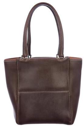Loro Piana Mini Leather Tote brown Mini Leather Tote