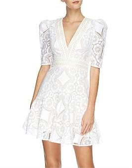 Lover Violet Lace Mini Dress