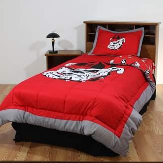 Georgia Bulldogs Bed Set - King