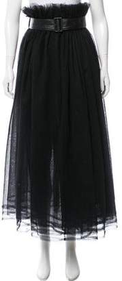 Noir Kei Ninomiya Layered Tulle Maxi Skirt
