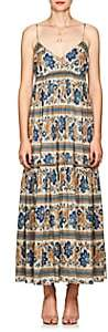 Zimmermann Women's Castile Floral Cotton Tiered Maxi Dress