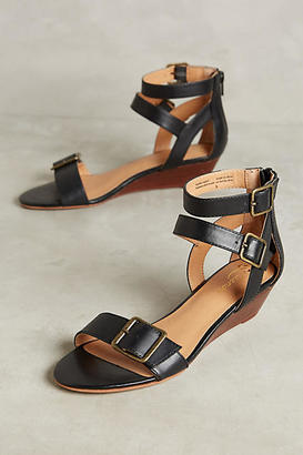 Seychelles Tigre Wedge Sandals $128 thestylecure.com