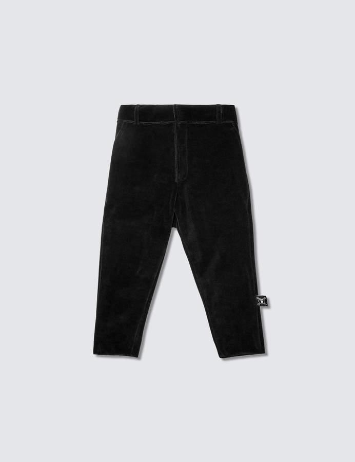Velvet Tailored Pants
