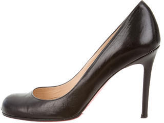 Christian Louboutin  Christian Louboutin Leather Simple Pumps
