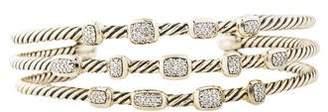 David Yurman Diamond Confetti Narrow Cuff