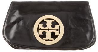 Tory Burch Reva Leather Clutch $195 thestylecure.com