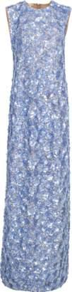 MICHAEL KORS Floral Paillette Gown