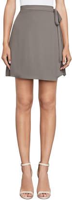 BCBGMAXAZRIA Aviva Mini Wrap Skirt