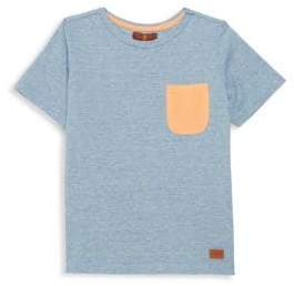 7 For All Mankind Boy's Short-Sleeve Contrast Tee