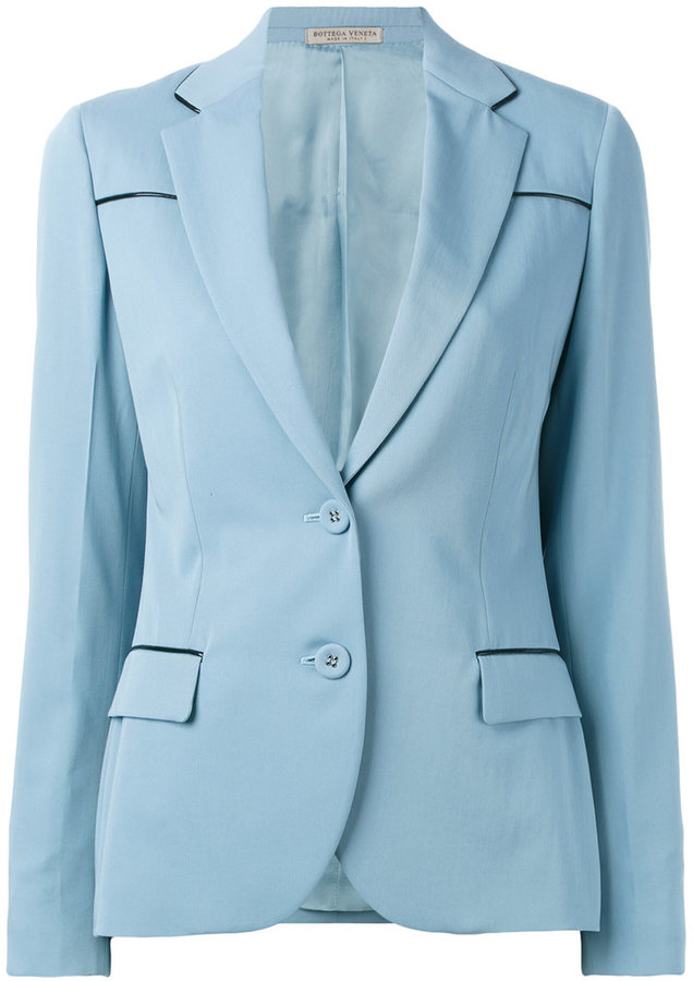 Bottega Veneta Bottega Veneta two-button blazer