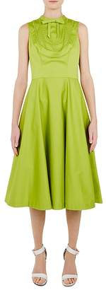 Ted Baker Briiola Lace-Trimmed Midi Dress