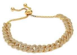 Fallon Pave Curb Chain Bracelet