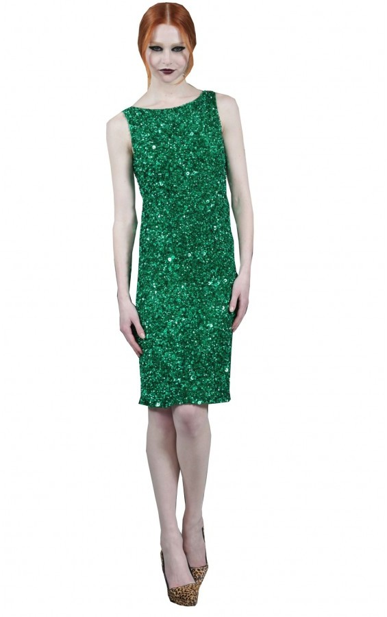 Jule Sleeveless Sequin Dress