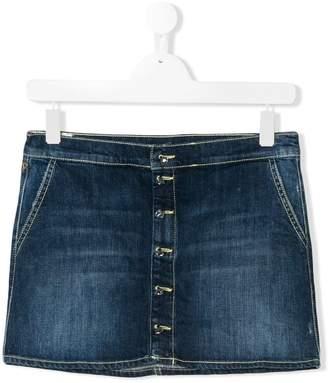 Dondup Kids TEEN stonewashed denim skirt